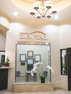 Orange County Dentist Lobby first dental visit